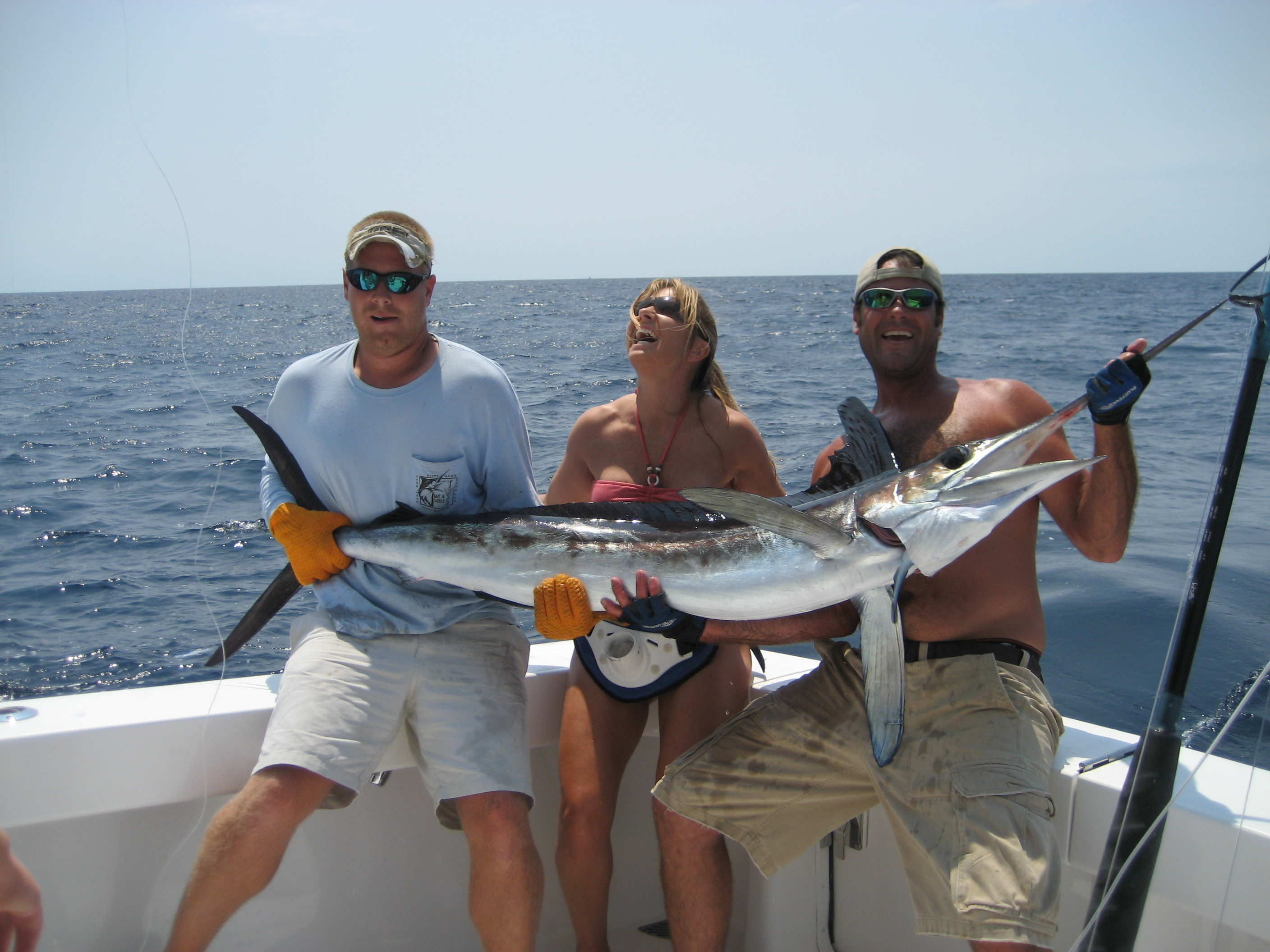 sportfishing catch