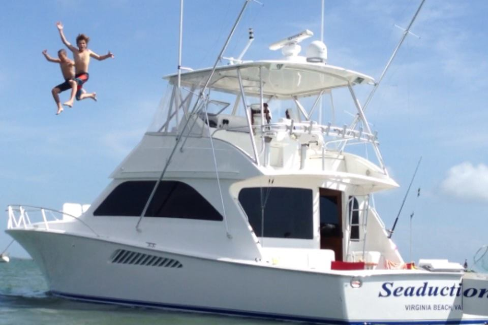 fun on seaduction charters