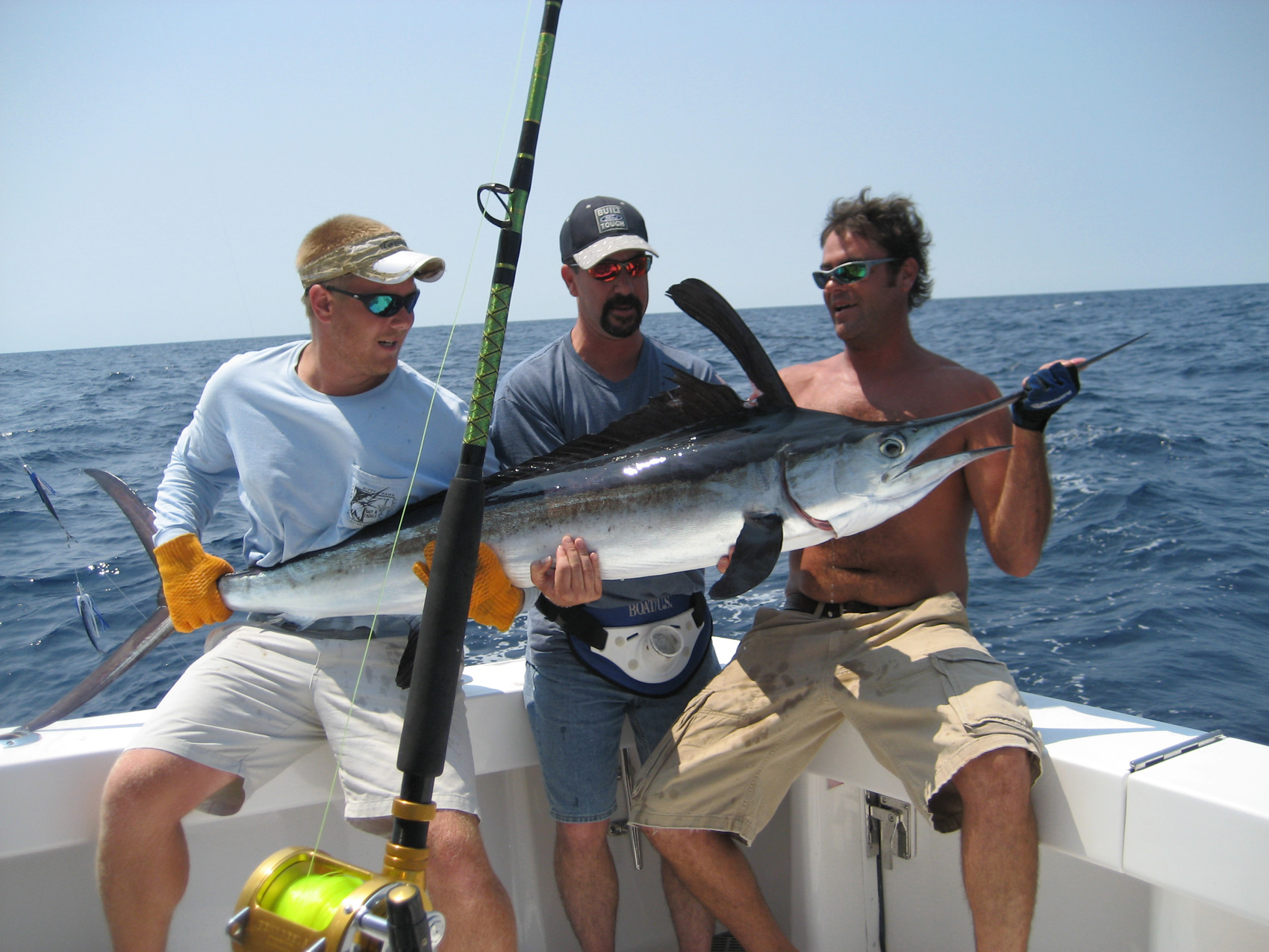 Marlin fishing off the seaduction in virginia beach for Va game and fish