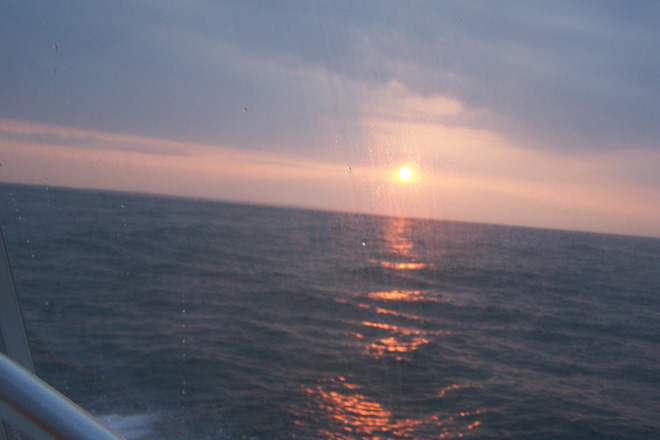 sunrise of the atlantic