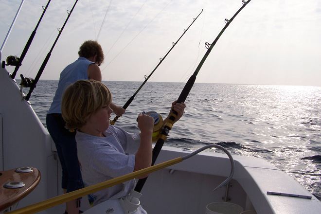 Photo gallery seaduction deep sea fishing charter for Fishing trips in virginia