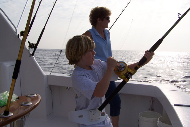 sport fishing off virginia beach