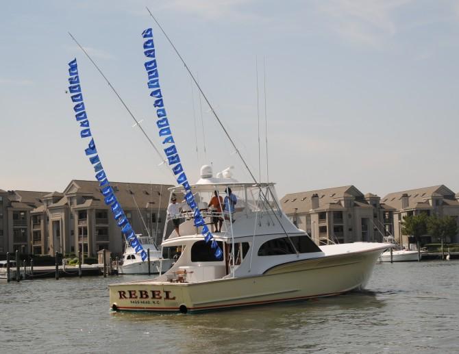 sportfishing boat for charter